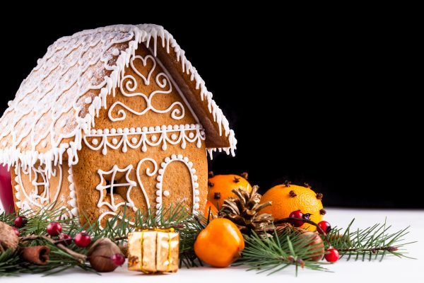 Roseville Rocklin smiles with gingerbread houses AND new construction