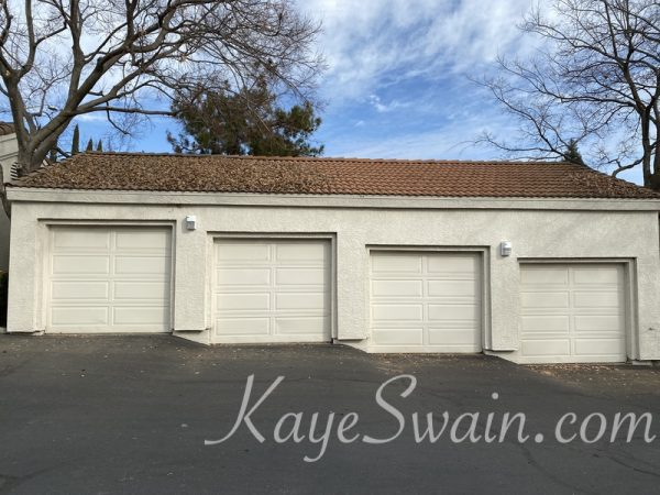 This is four garages one comes with the condo at 602 Horizon Cv Rocklin CA listed by Roseville REALTOR Kaye Swain