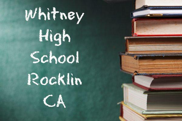 Whitney high school Rocklin website