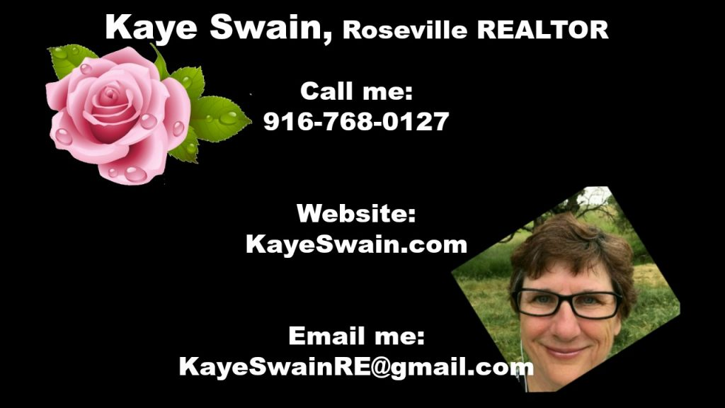 Contact information for Kaye Swain, Sun City Roseville CA REALTOR