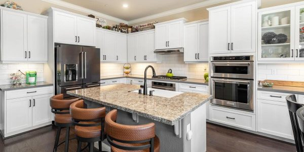 Love this kitchen island in Linoln CA