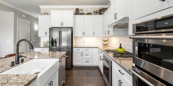 Shaker cabinets country kitchen sink stone counters all in one of the 4 bedroom houses for sale in lincoln ca
