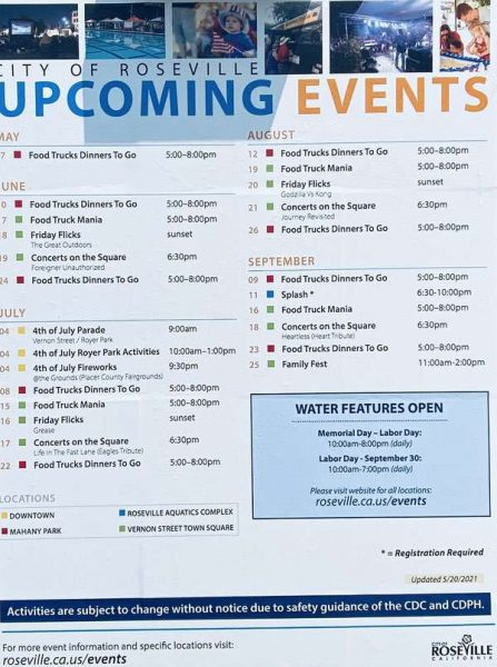 Kaye Swain Roseville Real Estate Agent sharing Park and recreation events info 0