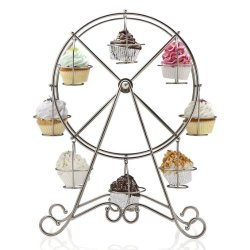A delightful cupcake holder for a garden tea party at Kaye Swain REALTOR website