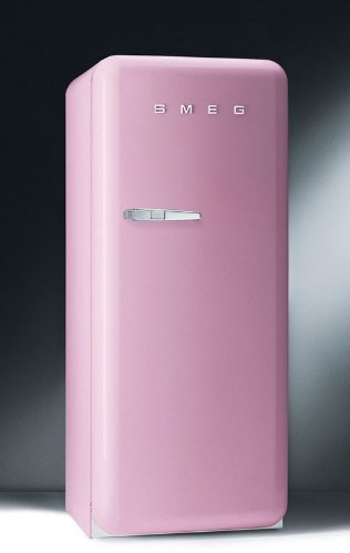 A tiny but PINK refrigerator-fun for boomers and seniors perhaps