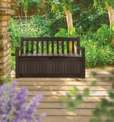 Garden furniture and storage is great for staying organized at home