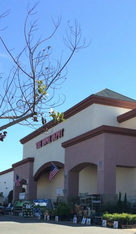 Home Depot on Fairway in Roseville CA 95678 visited by REALTOR Kaye Swain near my Keller Williams