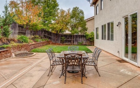 This West Roseville CA home has a back yard to relax in after work via Kaye Swain Real Estate Agent
