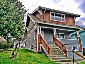 This old and beautifully remodeled Craftsman home