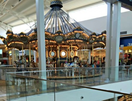 Westfield Galleria Roseville CA Mall is grand-including-the-carousel-Kaye Swain REALTOR